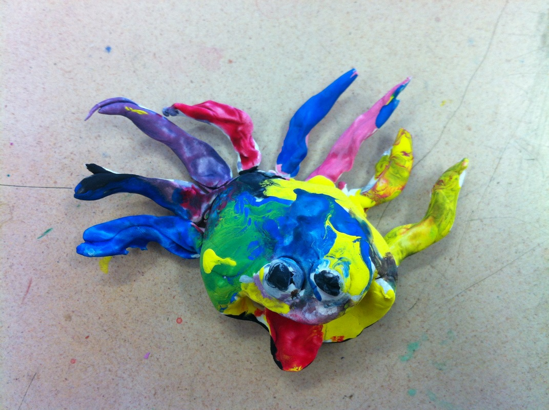 how to make a pinch pot animal